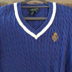 Vintage Ralph Lauren Tennis Sweater